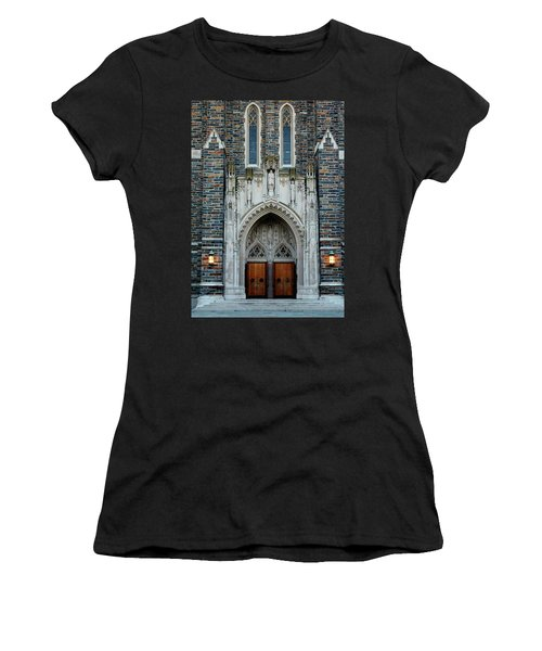 Main Entrance To Chapel Women's T-Shirt