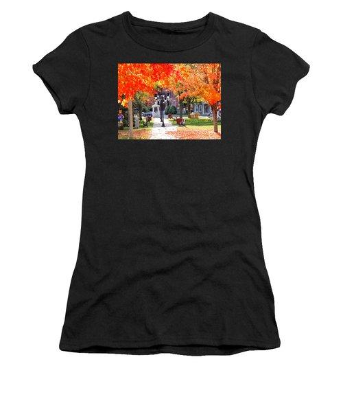 Main Street In The Fall Women's T-Shirt