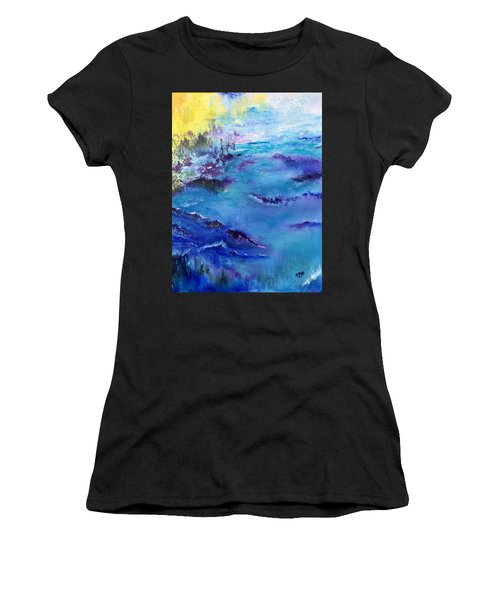 Maine Coast, First Impression Women's T-Shirt (Athletic Fit)