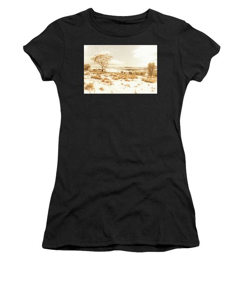 Majestic Scenes From Snowy Tasmania Women's T-Shirt