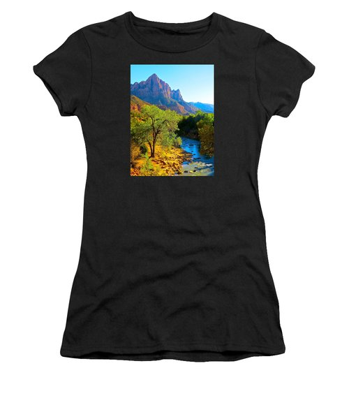 Majestic Watchman Women's T-Shirt (Athletic Fit)