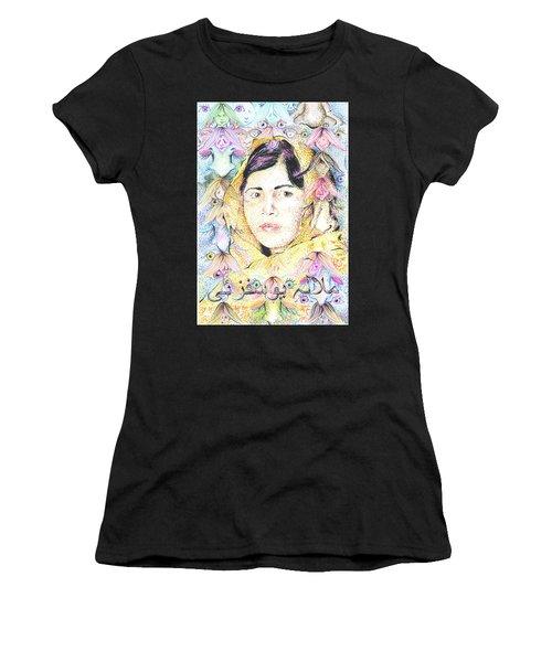 Malala-don't Ignore Us-sombra De Arreguin Women's T-Shirt