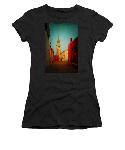 Malamocco Dusk No1 Women's T-Shirt (Athletic Fit)