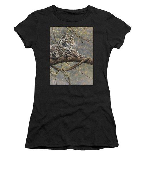 Male Clouded Leopard Women's T-Shirt