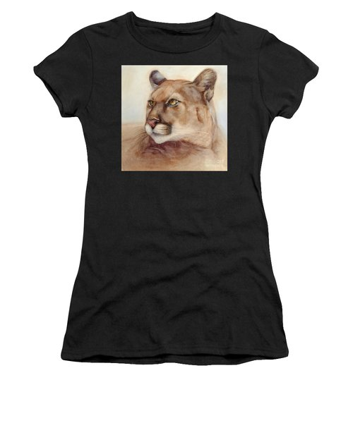 Male Cougar Women's T-Shirt (Athletic Fit)