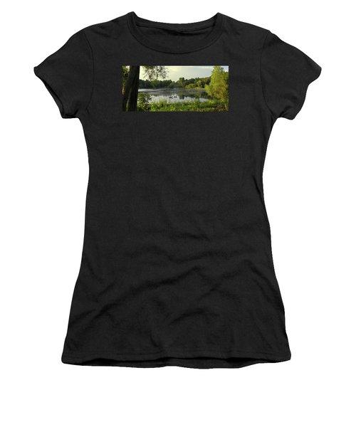 Mallards Lake II Women's T-Shirt (Athletic Fit)