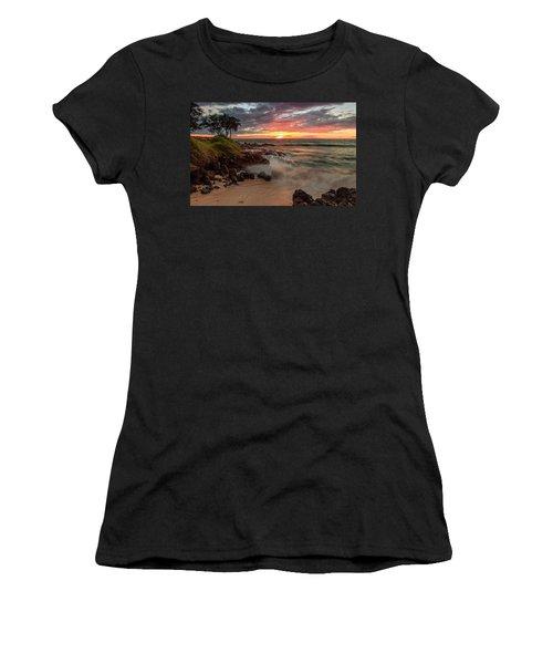 Maluaka Beach Sunset Women's T-Shirt