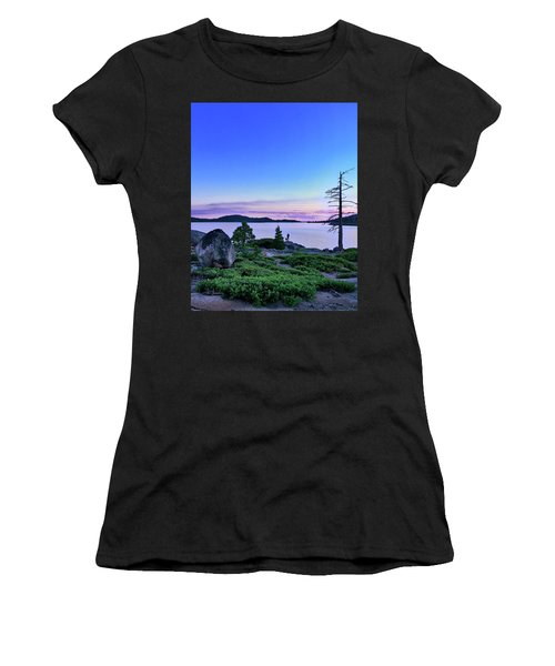 Man And Dog Women's T-Shirt