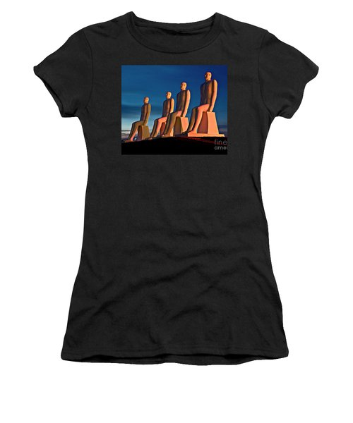 Man At Sea  Women's T-Shirt (Athletic Fit)