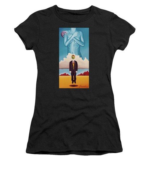 Man Dreaming Of Woman Women's T-Shirt
