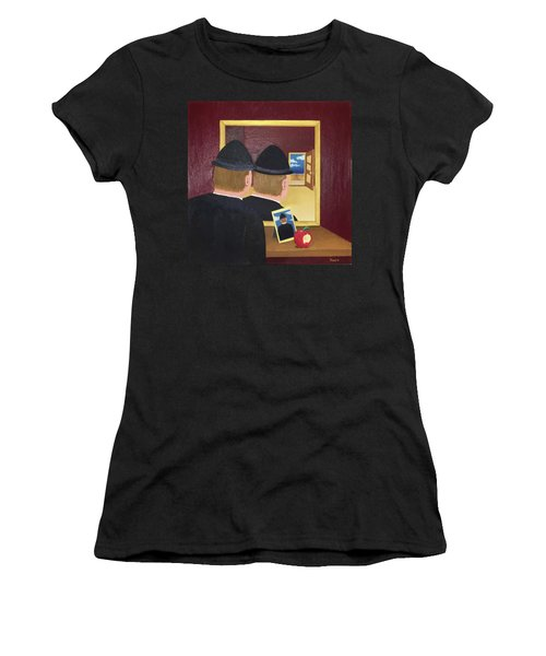 Man In The Mirror Women's T-Shirt