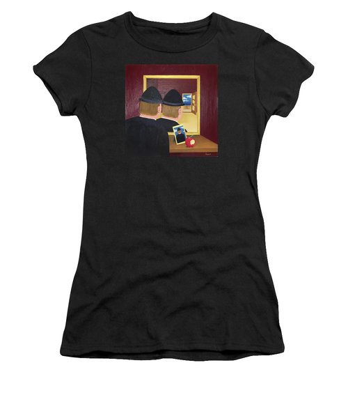 Man In The Mirror Women's T-Shirt (Athletic Fit)