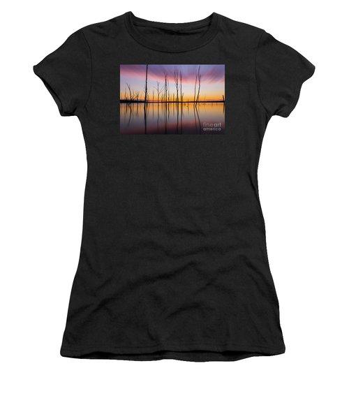 Manasquan Reservoir Long Exposure Women's T-Shirt (Athletic Fit)