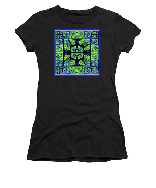 Mandala #22 Women's T-Shirt (Athletic Fit)