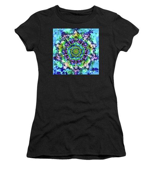 Mandala Art 1 Women's T-Shirt (Junior Cut) by Patricia Lintner