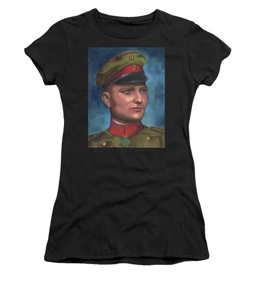 Manfred Von Richthofen The Red Baron Women's T-Shirt (Athletic Fit)