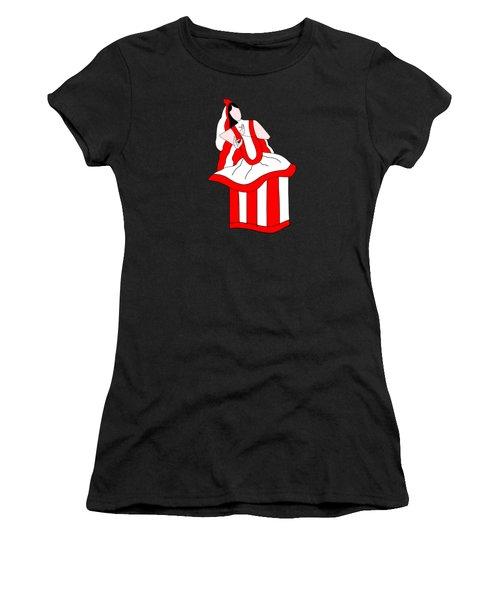 Manipuri Dancer Women's T-Shirt (Athletic Fit)