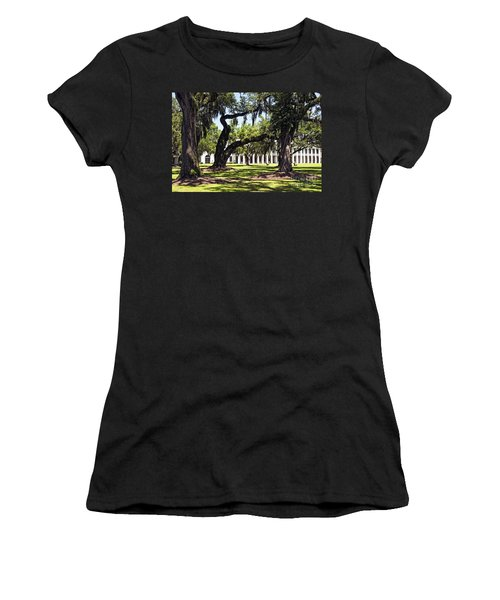 Manresa In Convent In La Women's T-Shirt (Athletic Fit)