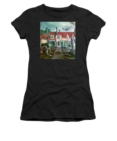 Mansion Women's T-Shirt (Junior Cut) by Persephone Artworks