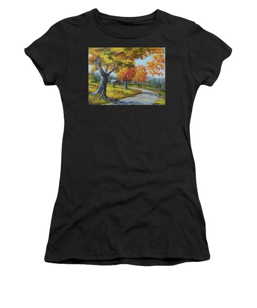 Maple Road Women's T-Shirt (Athletic Fit)