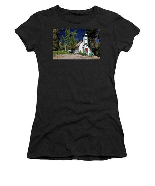 Marble Chapel Women's T-Shirt (Athletic Fit)