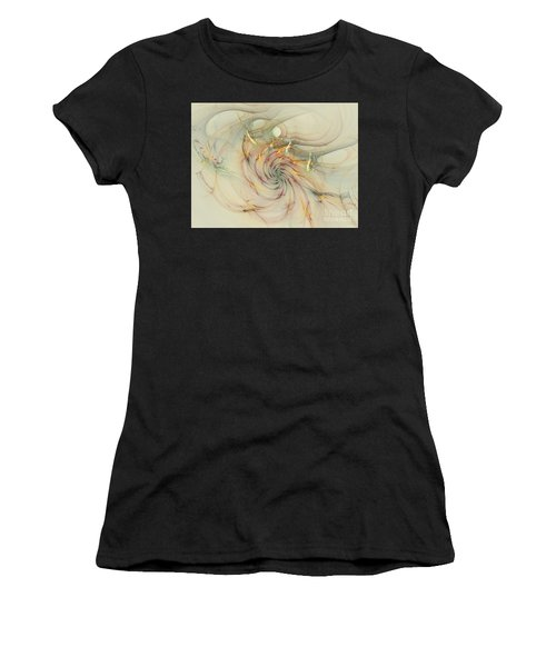 Marble Spiral Colors Women's T-Shirt
