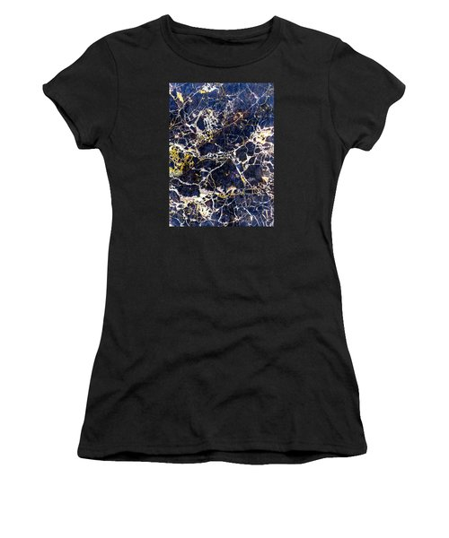 Marble Stone Texture Wall Tile Women's T-Shirt (Athletic Fit)