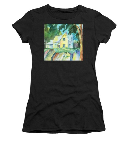 Marblehead Cottage Women's T-Shirt (Athletic Fit)