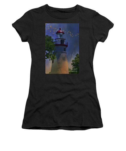 Marblehead In Starlight Women's T-Shirt (Athletic Fit)