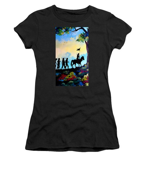 Marching At Daybreak Women's T-Shirt