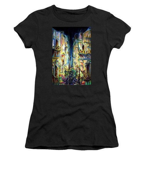 Mardi Gras Women's T-Shirt (Athletic Fit)