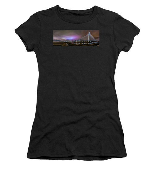 Margaret Hunt Hill Bridge - Dallas Texas Women's T-Shirt (Athletic Fit)