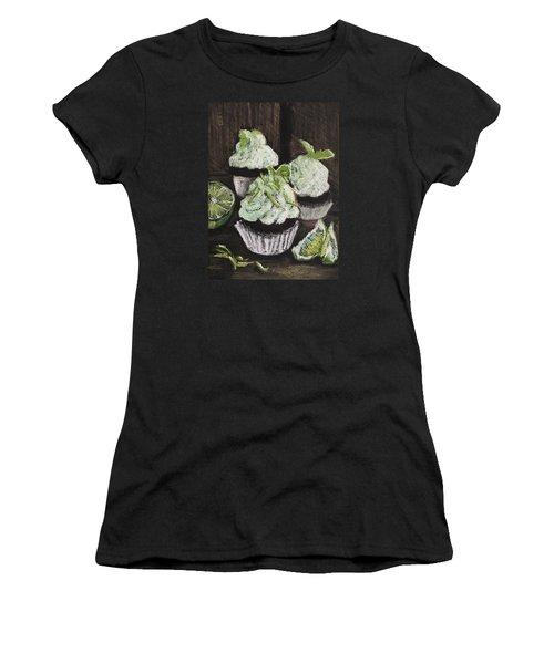 Margarita Cupcakes Women's T-Shirt (Athletic Fit)
