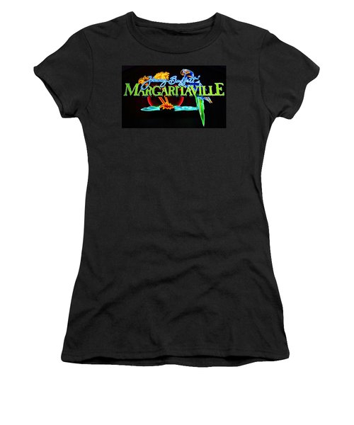 Margaritaville Neon Women's T-Shirt (Athletic Fit)