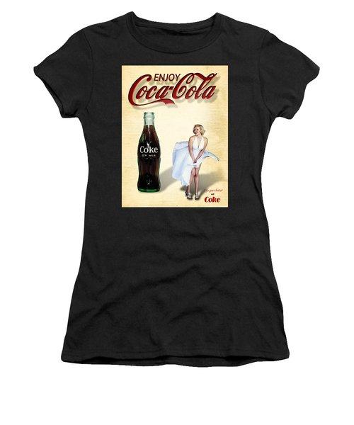 Marilyn Coca Cola Girl 3 Women's T-Shirt