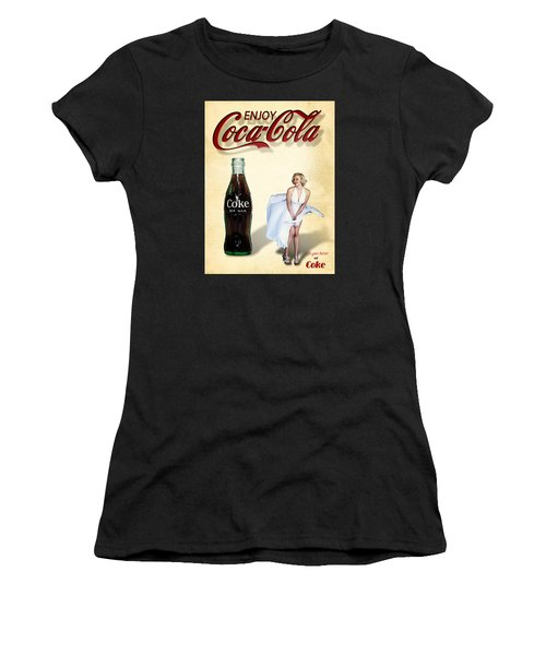 Marilyn Coca Cola Girl 3 Women's T-Shirt