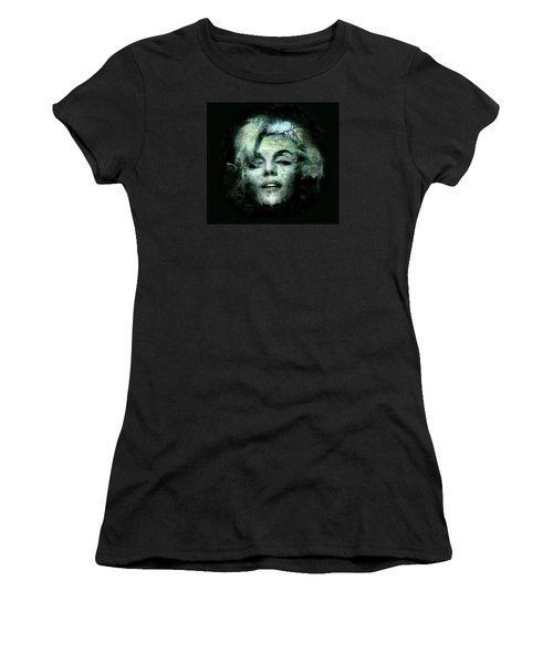 Marilyn Monroe Women's T-Shirt (Junior Cut) by Kim Gauge