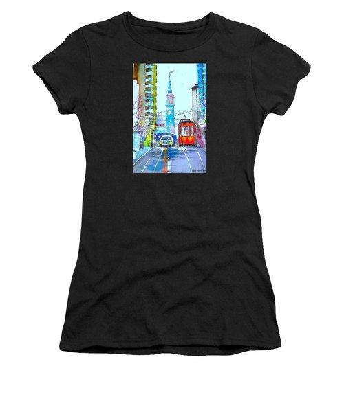 Market Street Women's T-Shirt (Athletic Fit)