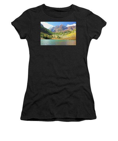 The Maroon Bells Reimagined 2 Women's T-Shirt