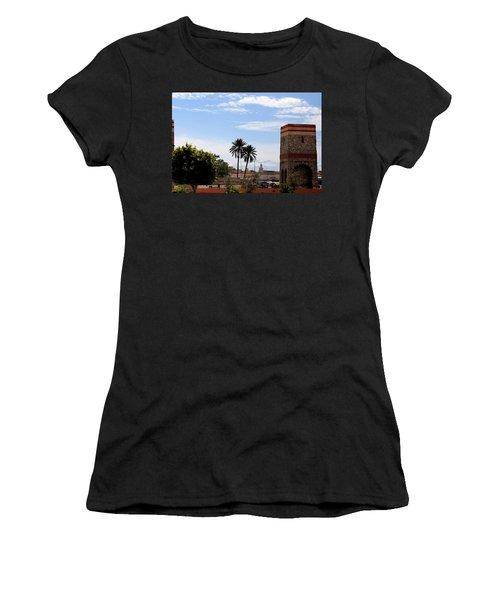 Women's T-Shirt (Junior Cut) featuring the photograph Marrakech 2 by Andrew Fare