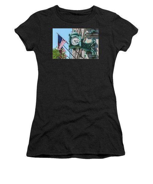 Marshall Field's Clock Women's T-Shirt