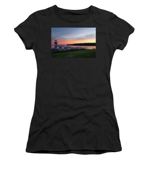 Marshall Point Lighthouse, Port Clyde, Maine -87444 Women's T-Shirt