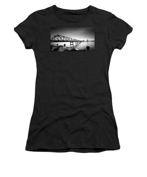 Martin Bridge 6666 Women's T-Shirt (Athletic Fit)