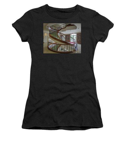 Marttin Hall Spiral Stairway 2 Women's T-Shirt