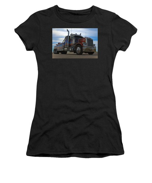 Marvins Big Rig Cars Movie Tribute Tow Truck Women's T-Shirt