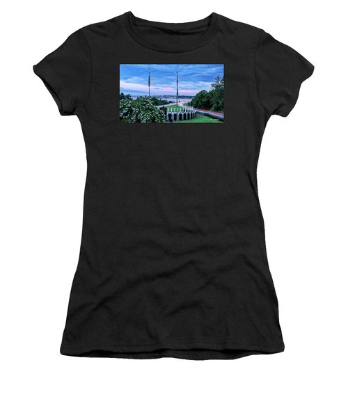 Maryland World War II Memorial Women's T-Shirt (Athletic Fit)