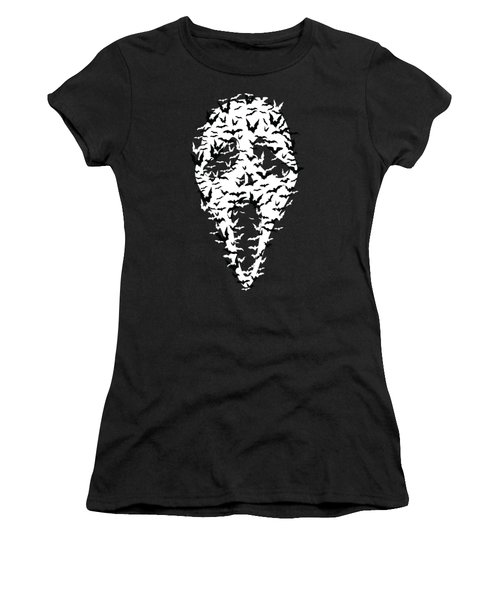 Mask Women's T-Shirt (Athletic Fit)