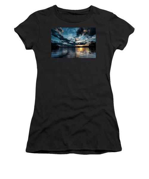 Masscupic Lake Sunset Women's T-Shirt