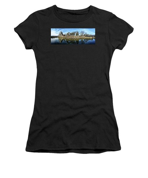 Matsumoto Castle Panorama Women's T-Shirt
