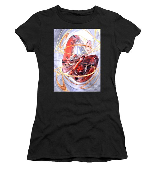 Matters Of The Heart Abstract Women's T-Shirt